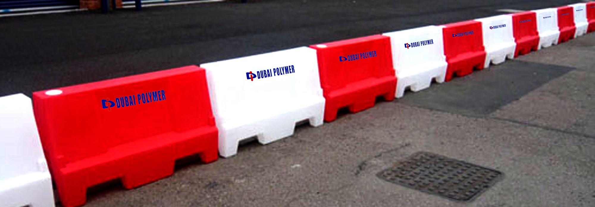 Polyethylene water tank products like PVC Pipes & Road Barriers in